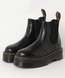 Dr.Martens(ドクターマーチン)のDr.Martens QUAD RETRO 2976 QUAD (BLACK POLISHED SMOOTH)(ブーツ)