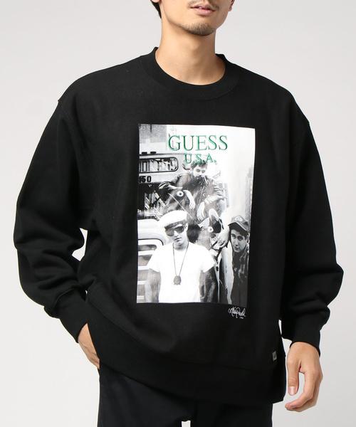 【驚きの値段】 【セール】【GUESS GREEN LABEL】BEASTIE LABEL】BEASTIE BOYS SWEATER PHOTO 1 GREEN SWEATER [MJ4K8963RP](ニット/セーター) GUESS GREEN LABEL(ゲスグリーンレーベル)のファッション通販, コクブンジシ:1093acd5 --- hausundgartentipps.de