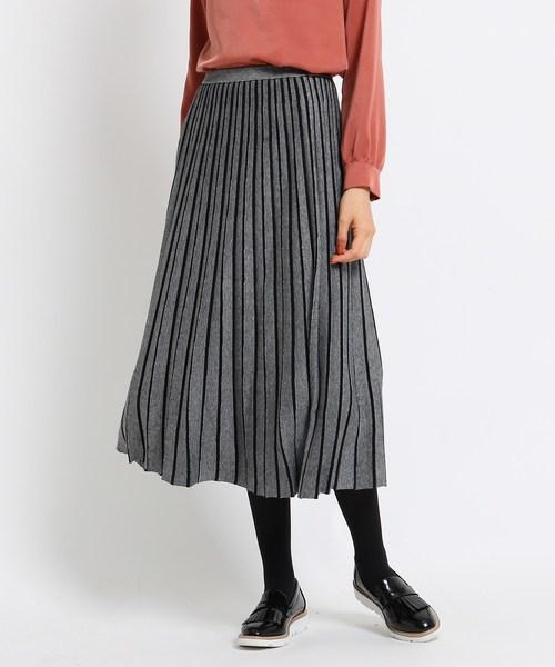 【受注生産品】 【ハンドウォッシュ】ニットプリーツスカート(スカート) INDIVI(インディヴィ)のファッション通販, アズマムラ:d5164e59 --- kindergarten-meggen.de