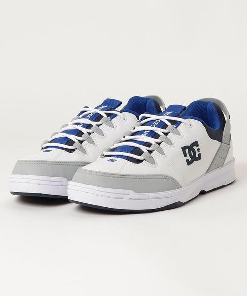 セール】DC SHOES SYNTAX (WHITE/GREY/BLUE