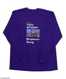 【Disney/Pixar/ディズニー&ピクサー/トイ・ストーリー/ザーグ】ロングTシャツパープル
