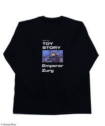 【Disney/Pixar/ディズニー&ピクサー/トイ・ストーリー/ザーグ】ロングTシャツブラック