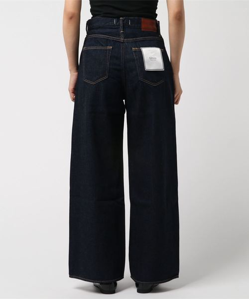 High Waist Wide Denim 'Sanda' / ワイドデニムパンツ