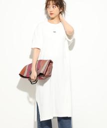 Lee(リー)の【Lee×ViS】Tシャツワンピース(ワンピース)