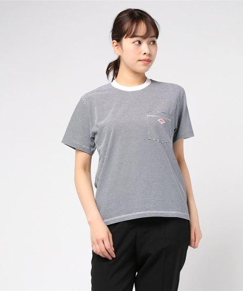 【DANTON】ポケットTシャツ ST WOMEN