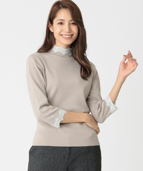 【初売り】 【ウォッシャブル CHIC ビー】ブライトレーヨンストレッチニット(ニット/セーター) BE|TO BE CHIC(トゥー ビー シック)のファッション通販, クレールオンラインショップ:3cf28f64 --- ulasuga-guggen.de