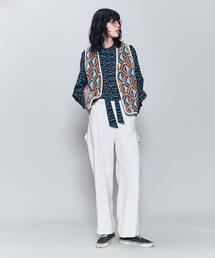 <6(ROKU)>WHITE PAINTER PANTS/パンツ