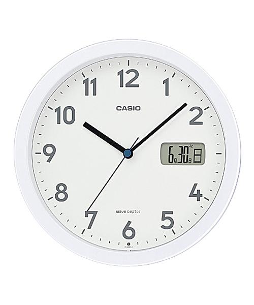 電波時計 壁掛け時計 置時計兼用 / IC-860J-7JF / カシオ