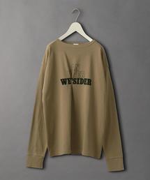 <6(ROKU)>LOGO PRINT LONG SLEEVE T-SHIRT/Tシャツ