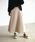 Auntie Rosa Holiday(アンティローザホリデー)の「【Holiday】スウェードプリーツスカート◆WEB限定◆(スカート)」|ナチュラル
