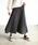 Auntie Rosa Holiday(アンティローザホリデー)の「【Holiday】スウェードプリーツスカート◆WEB限定◆(スカート)」|グレー