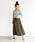 Auntie Rosa Holiday(アンティローザホリデー)の「【Holiday】スウェードプリーツスカート◆WEB限定◆(スカート)」|グリーン