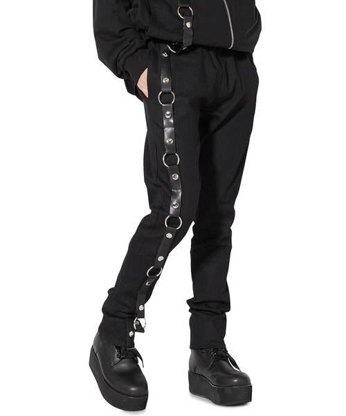 素晴らしい品質 アシンメトリーハーネススキニー -スーパースリム-(パンツ)|ankoROCK(アンコロック)のファッション通販, カスカベシ:f74b6efc --- fahrservice-fischer.de