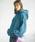 GeeRA(ジーラ)の「【19冬新着】ビッグシルエットボアパーカー(パーカー)」|ブルー
