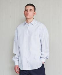 <H>BALLOON BIG SHIRT/シャツ