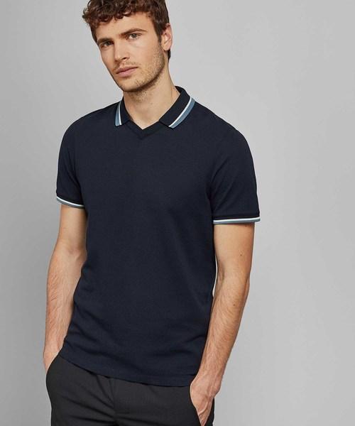 ZEBRAZ 新作 襟付きスポーティTシャツ