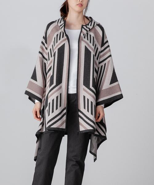 DOUBLE STANDARD CLOTHING(ダブルスタンダードクロージング)の「DSC. <orijinal>SNOWYポンチョ風コート(その他アウター)」|詳細画像