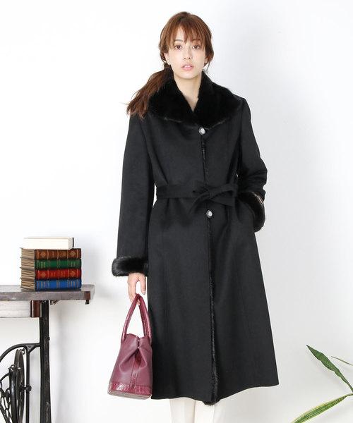 選ぶなら sankyoカシミヤ100%ロングコートミンクファー(その他アウター)|sankyo shokai(サンキョウショウカイ)のファッション通販, バイクパーツのワールドウォーク:b52c0b6c --- innorec.de
