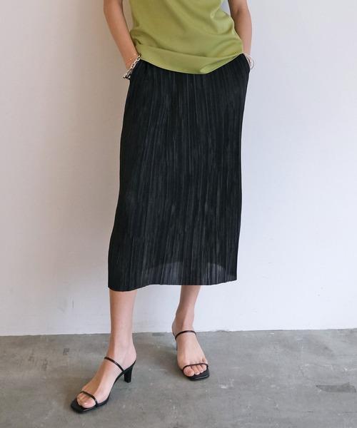 マイクロプリーツスカート