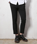 MR.OLIVE | RETRO POLYESTER TROPICAL CLOTH / ANKLE CUT ONE PLEATS STA-PREST PANTS(スラックス)