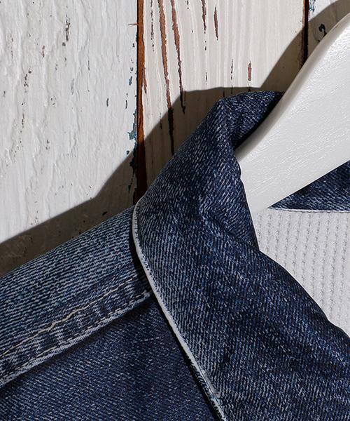 VOTE MAKE NEW CLOTHES 3D FAT DENIM JK 18SS-0019