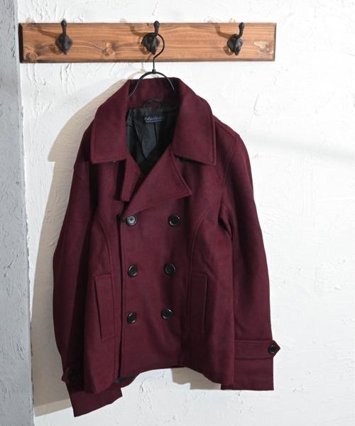 メルトンPコートジャケット