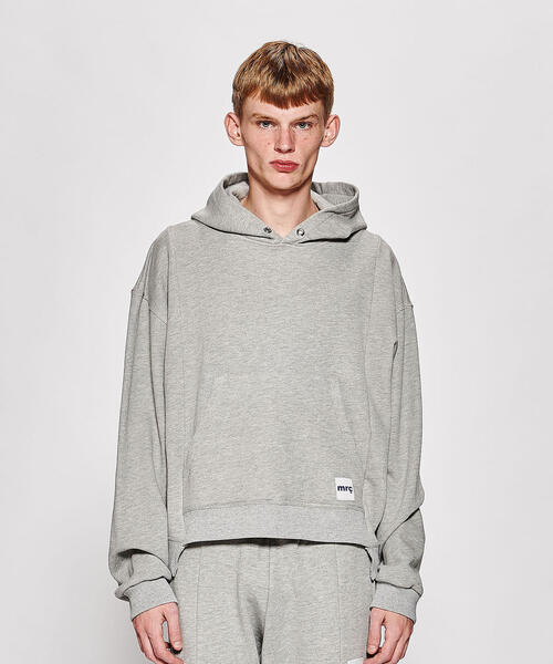 <Mr.Completely> FRONT PANEL HOODIE/パーカー