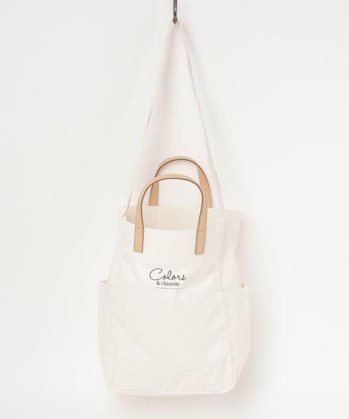 5f2f1fcbcf7 COLORS & chouette(カラーズアンドシュエット)の「エミリア(Emilia)(ハンドバッグ