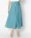 HELIOPOLE(エリオポール)の「スパンボイルワッシャー ラップデザインスカート(スカート)」|グリーン系その他