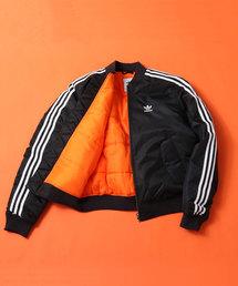 adidas(アディダス)のadidas BOMBER PADDED JACKET (BLACK)(ミリタリージャケット)