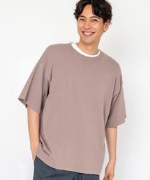 コットンバンブーサマーニットTシャツ