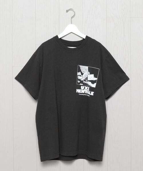 <UXE MENTALE>NON ART REALITY T-SHIRT/Tシャツ.