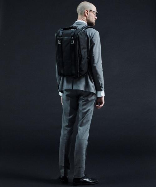 beruf baggage(ベルーフバゲッジ)の「【beruf baggage / ベルーフバゲージ】URBAN COMMUTER BACKPACK LD アーバンコミューター バックパック(バックパック/リュック)」|ブラック