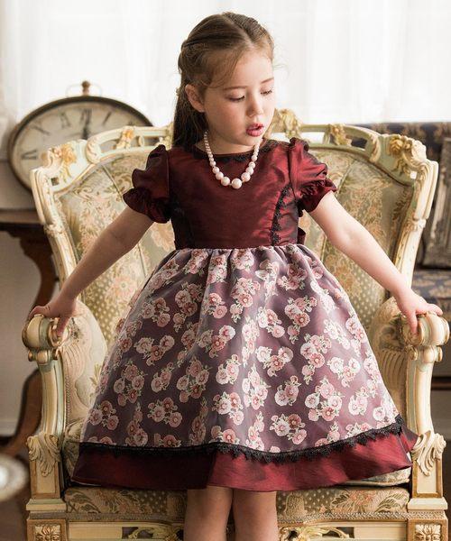 e78512913c641 Catherine Cottage(キャサリンコテージ)の「クラシカルデイジー柄オーガンジードレス(ドレス)