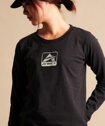 AVIREX(アヴィレックス)の【WEB&DEPOT限定】AVIREX/ アヴィレックス/ USAコットン クルーネックティー バーコード/ DP L/S USA COTTON CREW NECK T-SHIRT BARCODE(Tシャツ/カットソー)