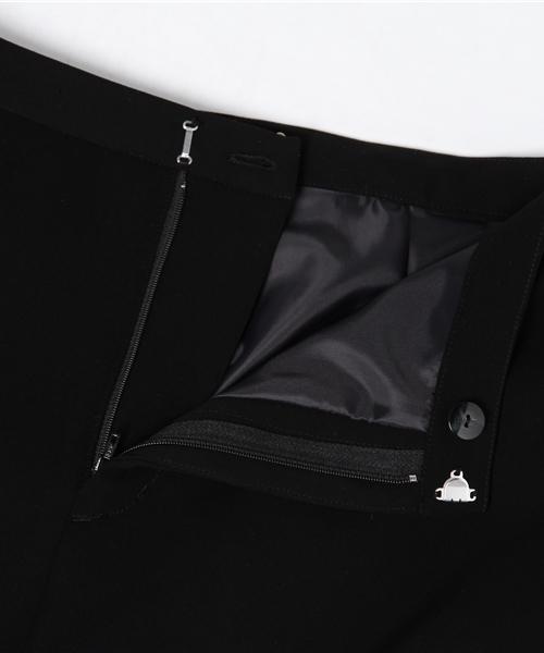 nina mew(ニーナミュウ)の「サイドボタンストレートパンツ(その他パンツ)」|詳細画像