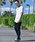 JOKER(ジョーカー)の「【ユニセックスでおすすめ】スウェットスキニージョガーパンツ スウェットパンツ トラックパンツ ルームウェア/部屋着(スウェットパンツ)」|詳細画像