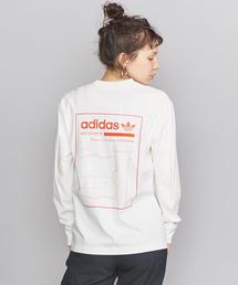 <adidas Originals(アディダス)>ロゴロングスリーブカットソー