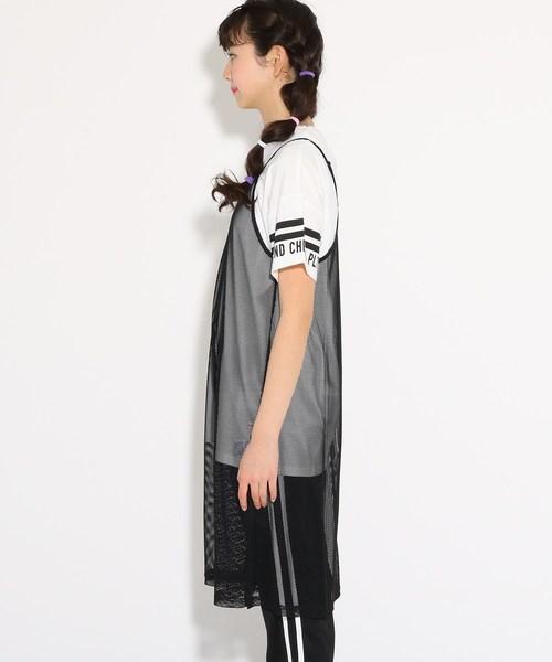 ★ニコラ掲載★キャミワンピース+Tシャツ セット