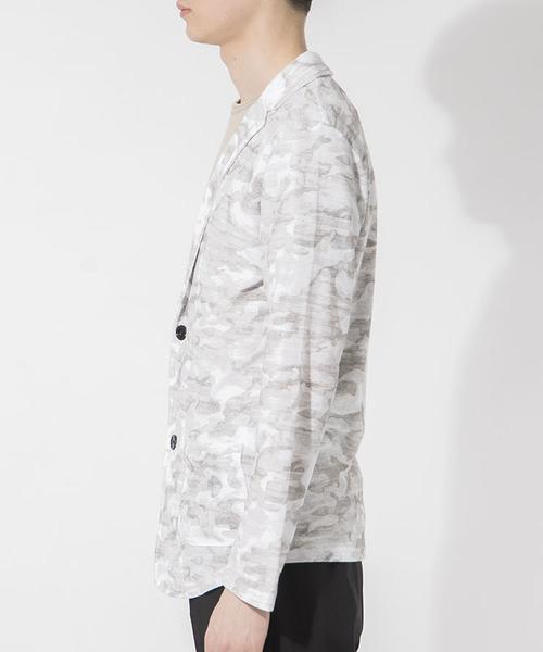 スラブカモフラージュジャケット