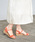 NOFALL(ノーフォール)の「コルク調ウェッジソールストラップサンダル(サンダル)」|詳細画像