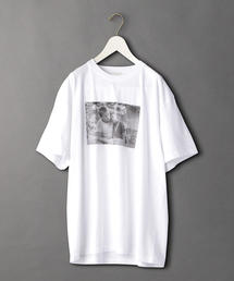 <6(ROKU)>STAND BY ME SHORT SLEEVE MONOCHROME T-SHIRT/Tシャツ Ψ