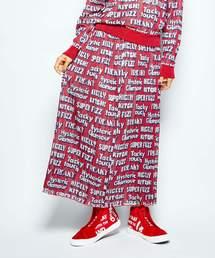 CLASSIC LOGO SCRATCH総柄ジャカードスカート