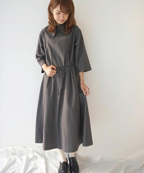 セール 髪を結んで着たい服 ワンピース ワンピース Haupia ハウピア のファッション