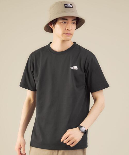 [ ザ ノースフェイス ] THE NORTH FACE バックスクエアロゴ Tシャツ