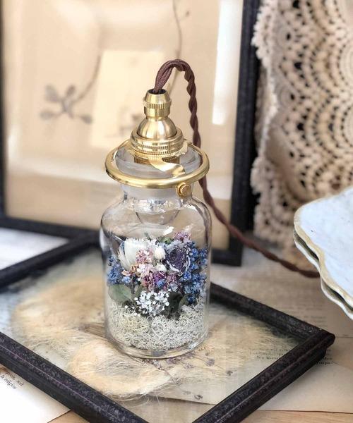 flower bottle light *(フラワーボトルライト/ミニ)