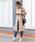 Social GIRL(ソーシャルガール)の「ピーチロングとろみケープトレンチスプリングコート(トレンチコート)」|詳細画像