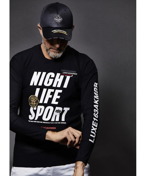 最新作 【AKM LUXE163 COLLECTION】NIGHT LIFE SPORT WITH SPORTS PATCH, 釣具総合卸売販売 フーガショップ2 636dbe42