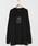 HOLIDAY(ホリデイ)の「SUPER FINE DRY L/S T-SHIRT (DRACULA) スーパーファインドライロングスリーブTシャツ (ドラキュラ)(Tシャツ/カットソー)」|ブラック