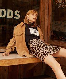 REDYAZEL(レディアゼル)の豹柄コルセットベルト付きミニスカート(スカート)